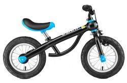 Vélo garçon 12 Sport No-Pedal Balance Vélo, noir et bleu
